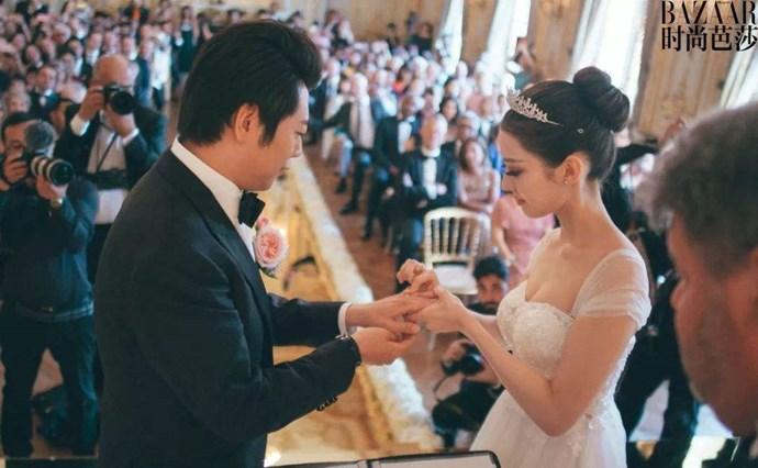 吉娜婚礼现场
