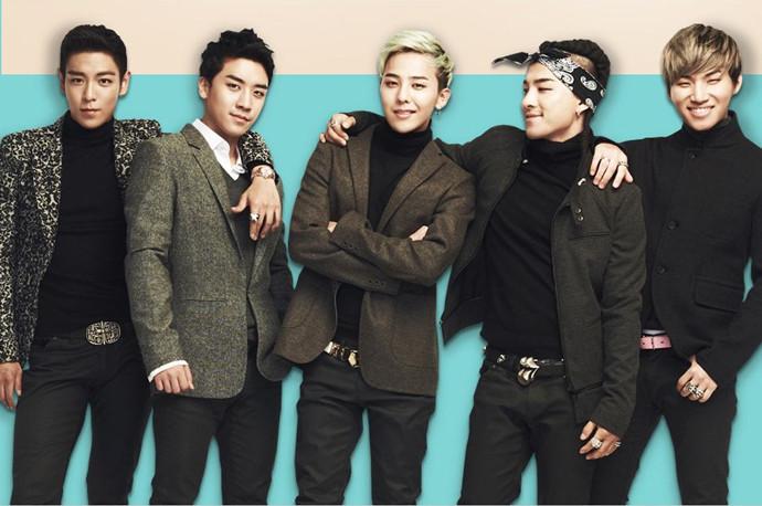 韩国组合bigbang成员